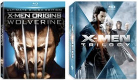 x-men trilogy x-men origins wolverine blu-ray