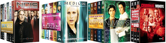 CBS Network TV DVD box set sale