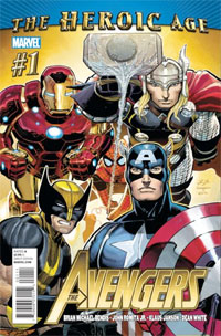 Marvel Comics: The Heroic Age: The Avengers, Issue #1