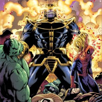 Marvel Comics: Avengers and the Infinity Gauntlet