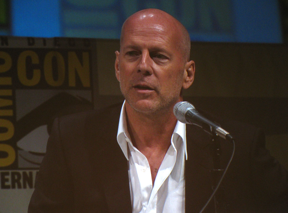 SDCC 2010: Summit Entertainments RED panel: Bruce Willis