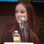 SDCC 2010: Disneys TRON panel: Olivia Wilde 02