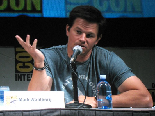 SDCC 2010: The Other Guys panel: Mark Wahlberg