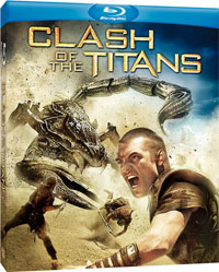 Clash of the Titans Blu-ray disc