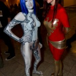 Dragon*Con 2010 Cosplay Babes: Cortana from Halo and Dark Phoenix