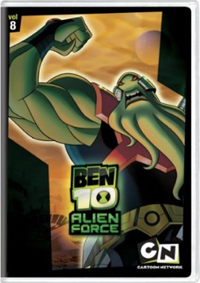 Ben 10 Alien Force, Vol. 8 DVD