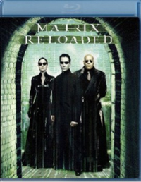 Matrix Reloaded Blu-ray DVD