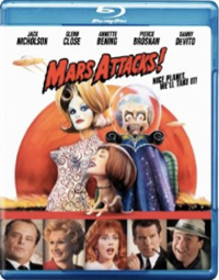 Mars Attacks! Blu-ray DVD