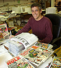 Ted vanLiew, owners of Superworld Comics