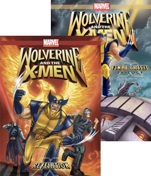 Wolverine and the X-Men, vol. 5 and 6 DVD
