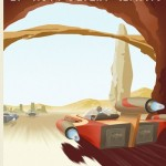 Star Wars Retro Travel Poster - Mos Eisley