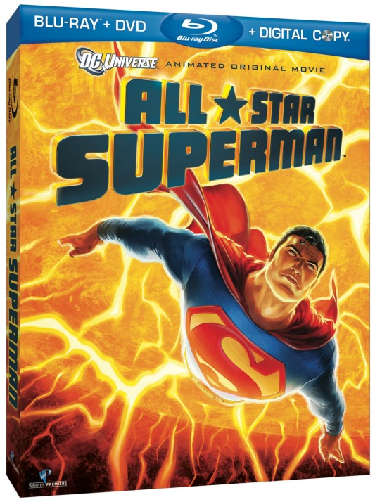 All-Star Superman Blu-ray DVD