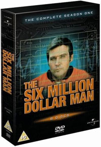 The Six Million Dollar Man, Complete Season One DVD