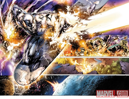 Silver Surfer Preview 4