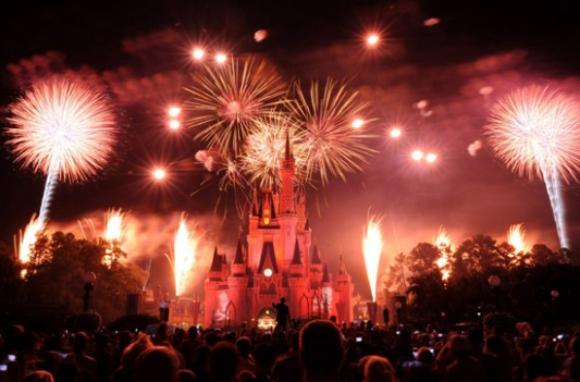 Disney World New Year's