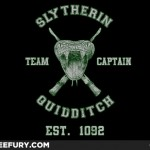 Slytherin Quidditch shirt