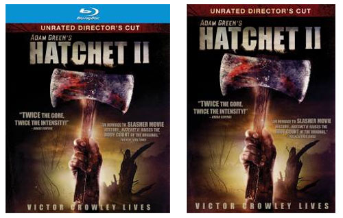 Hatchet II Blu-ray DVD