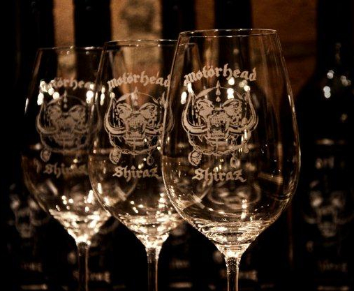 motorhead wine glasses