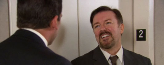 Steve Carell & Ricky Gervais The Office