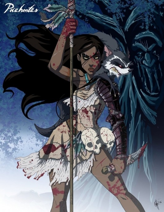Twisted Disney Princess: Pocahontas