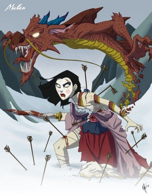Twisted Disney Princess: Mulan