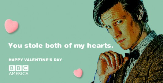 Doctor Who Valentine's Day e-card