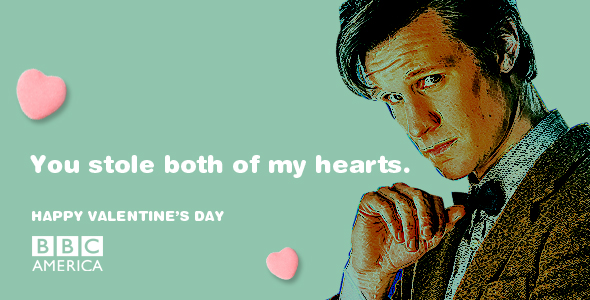 doctor who valentines day e card