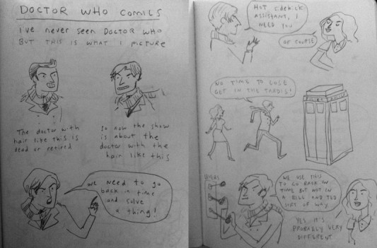 Doctor Who - Kate Beaton