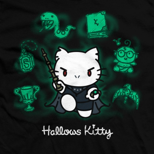 Harry Potter Meets Hello Kitty In Hallows Kitty