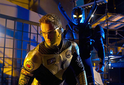 Smallville's Booster Gold and Blue Beetle