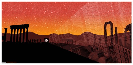 Mondo print: The City On The Edge Of Forever