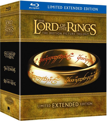 The Lord of the Rings Extended Edition Blu-ray