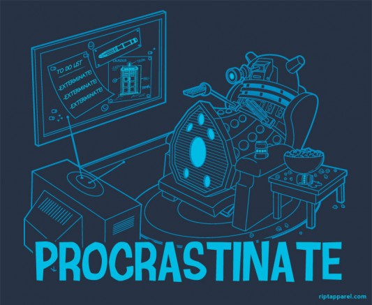 Doctor Who Procrastinate!