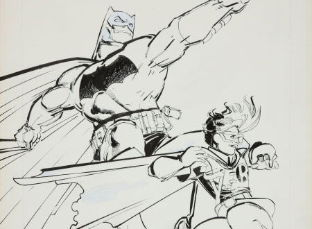 Batman & Robin art