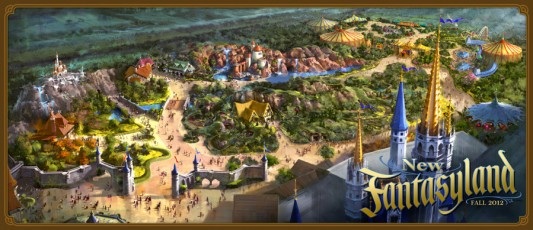 New Fantasyland - Disney World