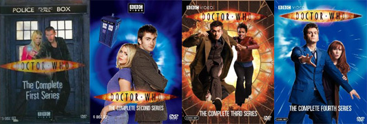 Doctor Who Seasons 1-4