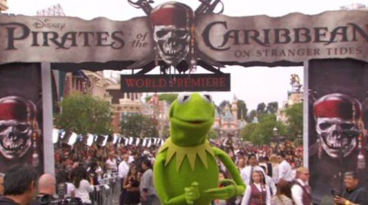 Kermit The Frog - Pirates Of The Caribbean: On Stranger Tides