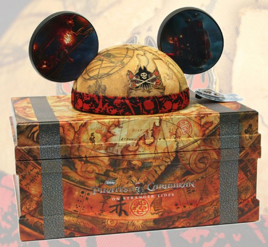 Pirates of the Caribbean ear hat