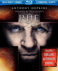 The Rite Blu-ray