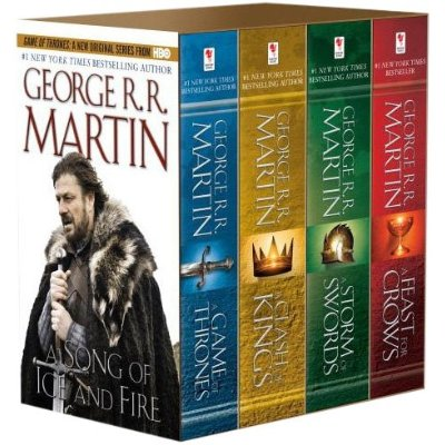 George R.R. Martin's A Game of Thrones 4-Book Boxed Set