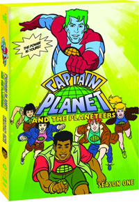 Captain Planet and the Planeteers, Season One DVD