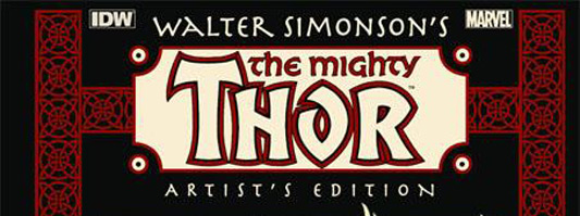 Walter Simonson's Thor Artist's Edition Variant Cover Edition