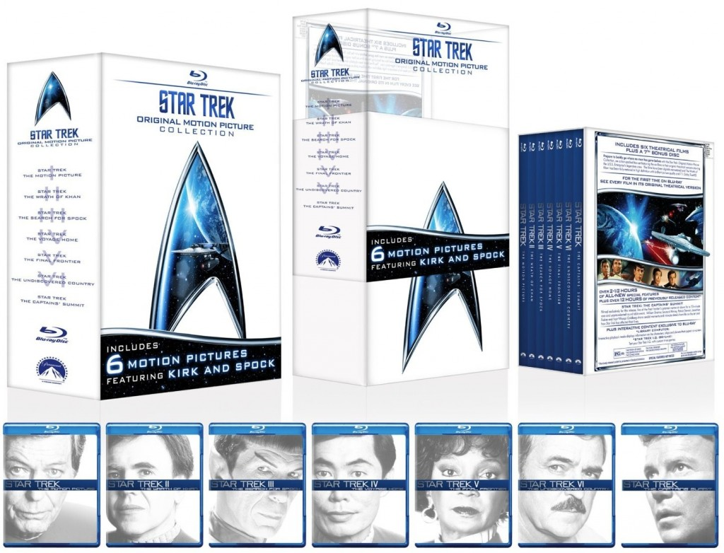 Star Trek: The Original Motion Picture Collection Blu-ray Releases