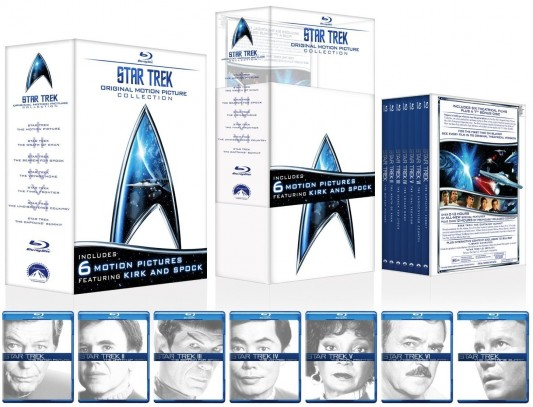 Star Trek: The Original Motion Picture Collection Blu-ray