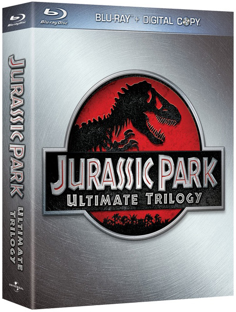 Jurassic Park Blu-ray trilogy box set