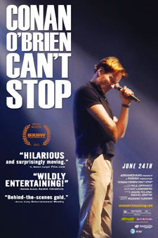 Conan O Brien Cant Stop movie poster