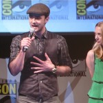 SDCC 2011: In Time panel: Damon Lindelof with Justin Timberlake and Amanda Seyfried