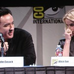 SDCC 2011: The Raven panel: John Cusack and Alice Eve