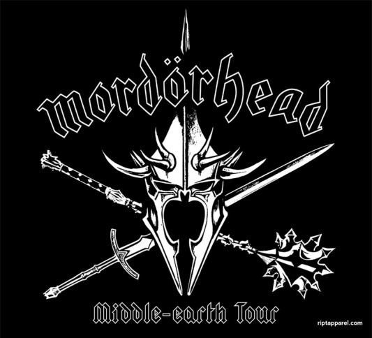 Lord Of The Rings - Motorhead Shirt - Mordor Head