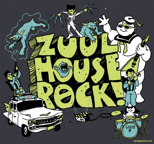 Ghostbusters Shirt - Zuul House Rock